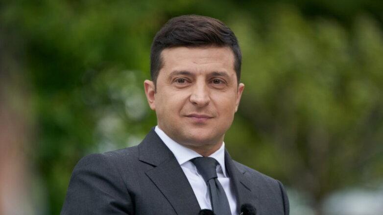 Владимир Зеленский листва