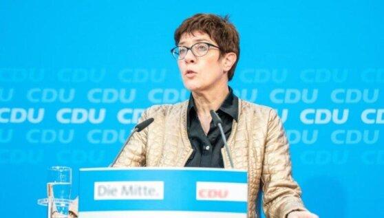 Глава Минобороны Германии ответила на критику «Северного потока—2»