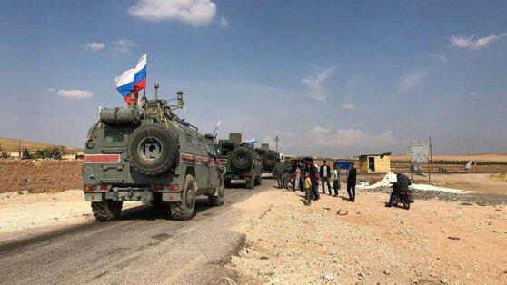 Атака на российско-турецкий патруль в Сирии попала на видео
