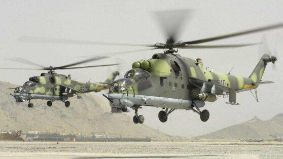 На границе Армении и Турции появились российские военные вертолеты
