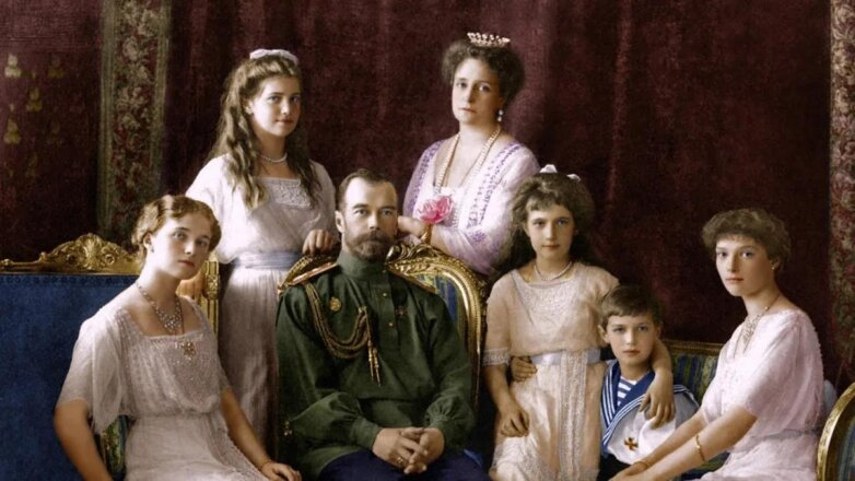 Семья последнего русского царя Николая II