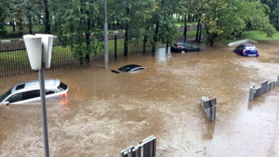 В ближайшее время на Москву обрушится мощный ливень