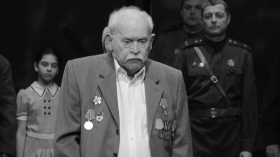 Скончался старейший артист Театра Армии Александр Петров