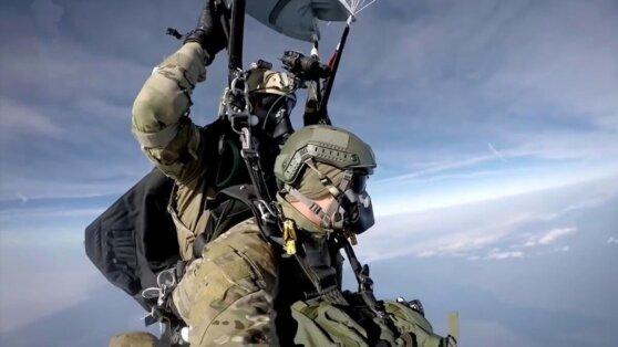 В Германии солдаты США пострадали при прыжках с парашютом