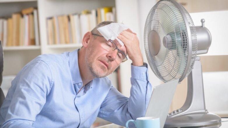 Погода жара вентилятор