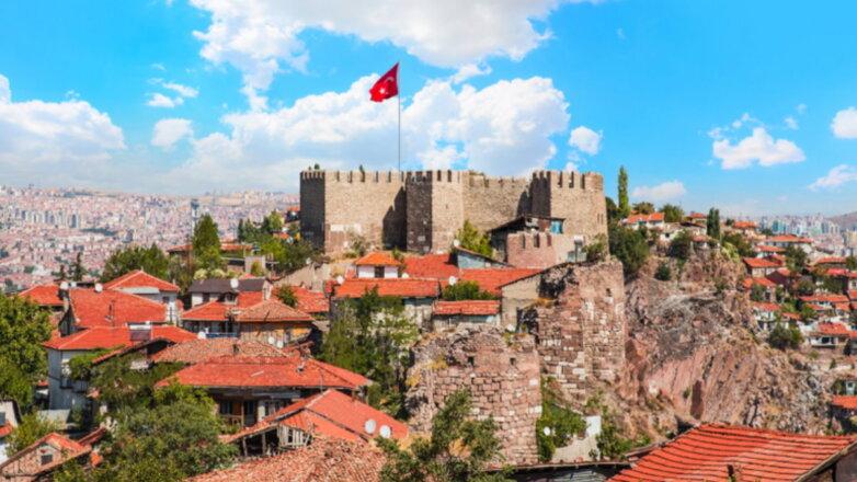 Анкара Турция курорт туризм флаг