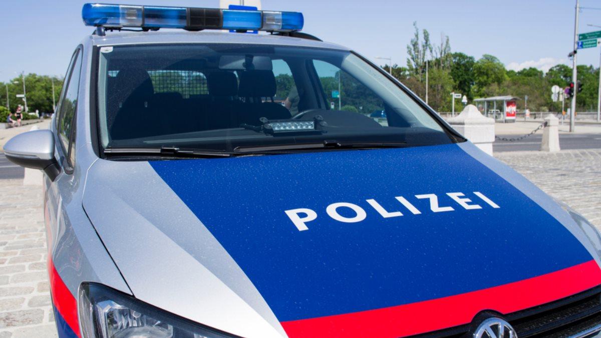 Австрия полиция полицейская машина
