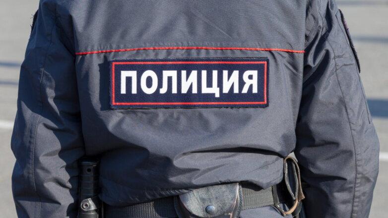 Полиция Россия форма спина