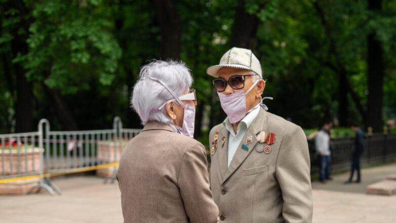 Казахстан коронавирус улица ветераны