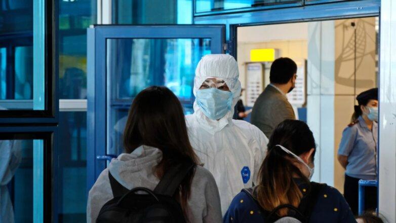 Казахстан коронавирус спецодежда