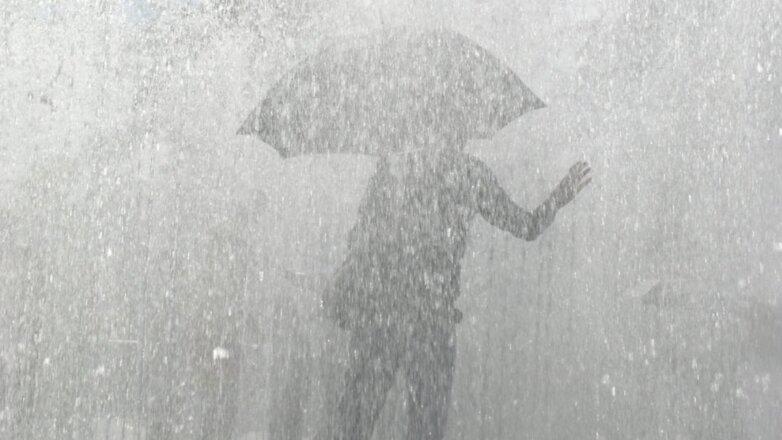 Погода сильный ливень дождь