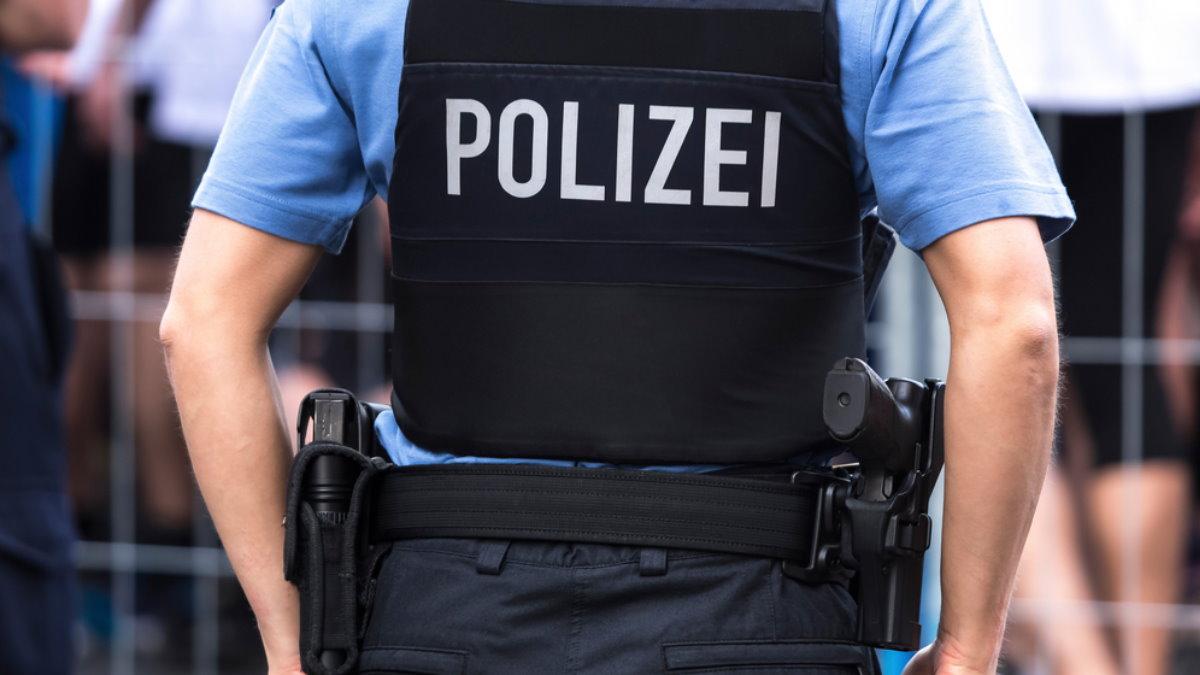 Германия полиция полицейский