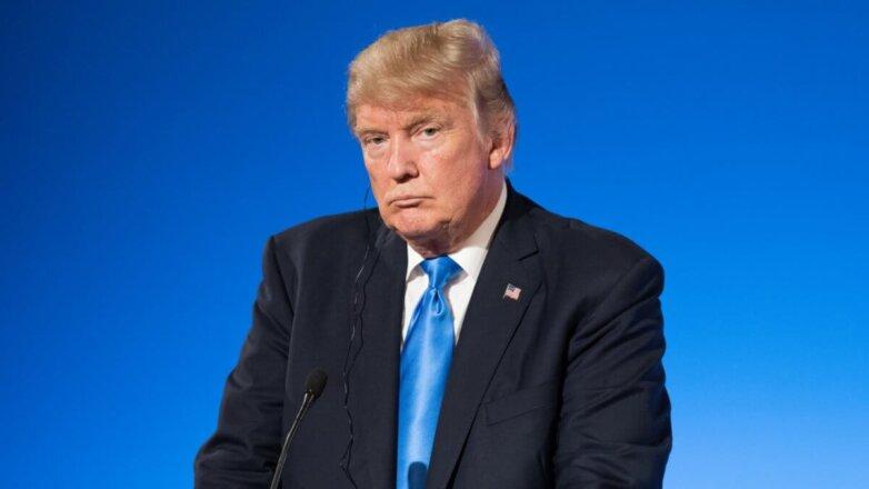 Президент США Дональд Трамп Недовольный