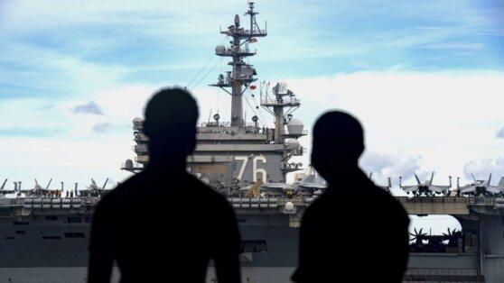 ВМС США и Китая провели одновременные учения в Южно-Китайском море