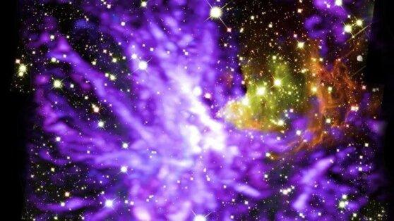 Землянам показали, как выглядят «космические танцы»
