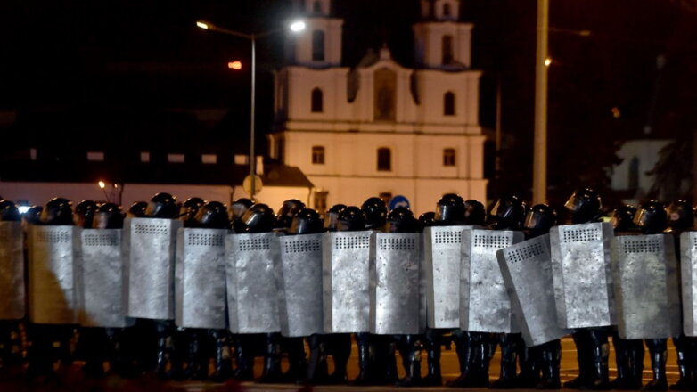 Белоруссия Беларусь протесты силовики