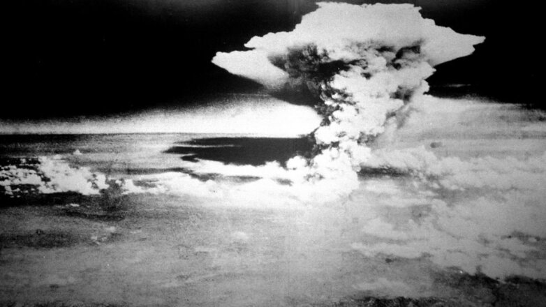 Хиросима атомная бомба ядерный гриб