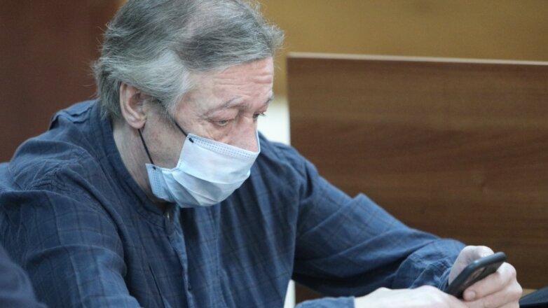 Михаил Ефремов в Пресненском суде
