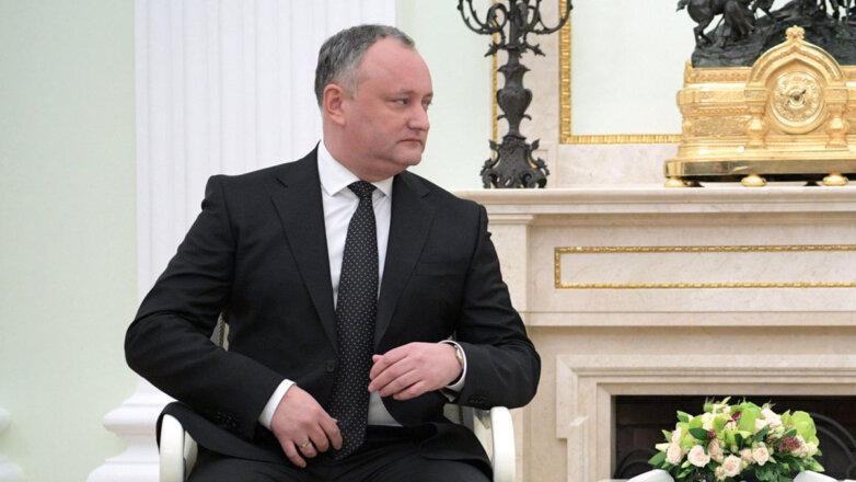 Игорь Николаевич Додон, президент Республики Молдова