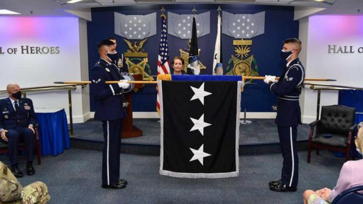 Космические силы США флаг