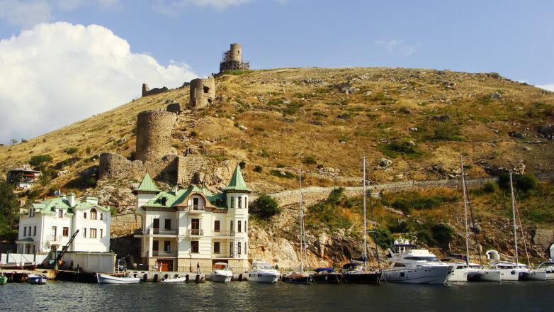 Крым Балаклава Генуэзская крепость