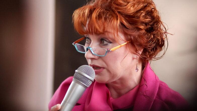 Телеведущая Роза Сябитова