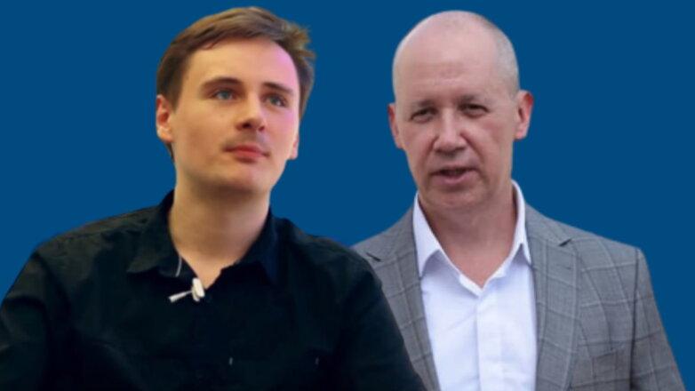 Степан Путило и Валерий Цепкало