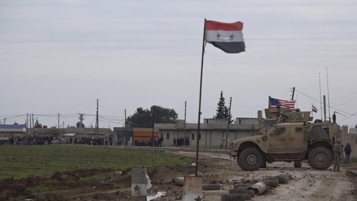 Военные США в Сирии Сирия американские войска