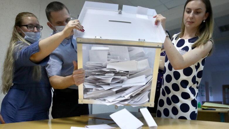 Выборы подсчёт голосов бюллетени