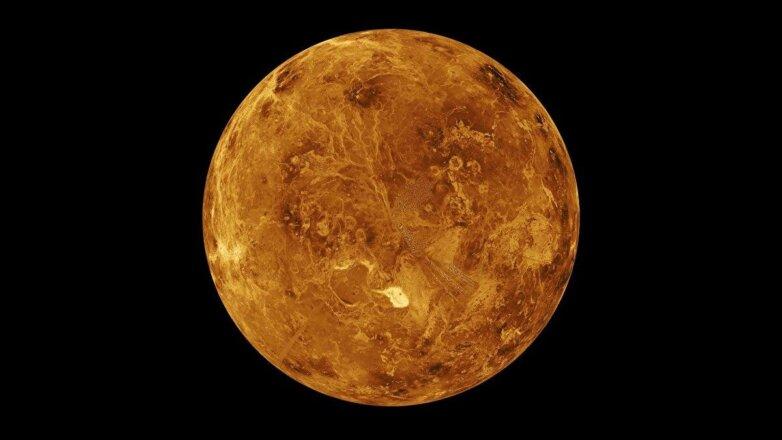 Венера, фото от исследовательской станции Магеллан