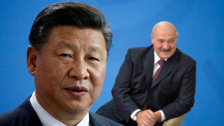 Си Цзиньпин, Александр Лукашенко