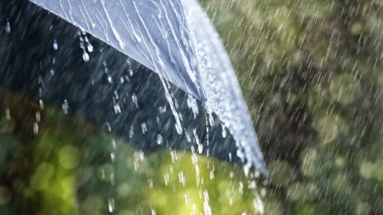 Погода дождь ливень гроза лето зонтик