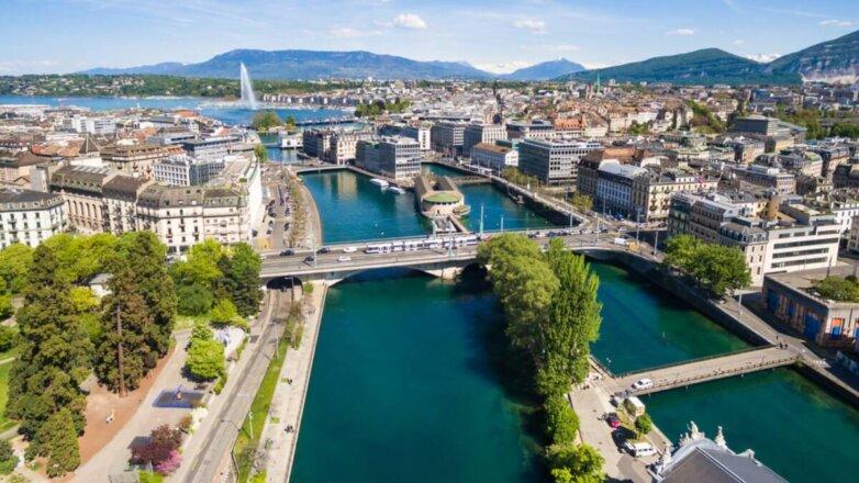 Женева Швейцария туризм