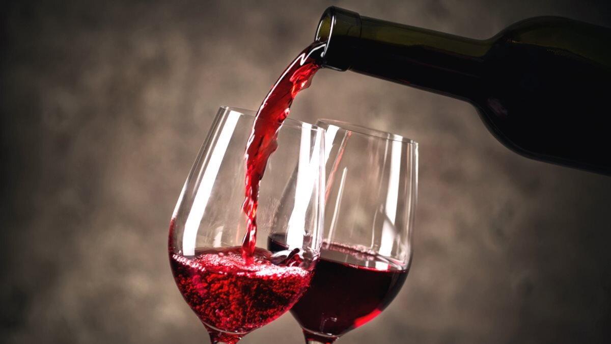 Алкоголь красное вино