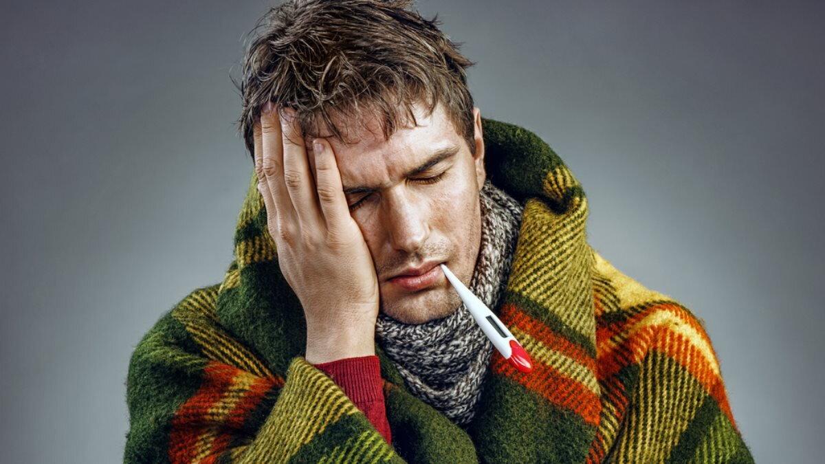 Термометр Простуда ГРИПП болезнь