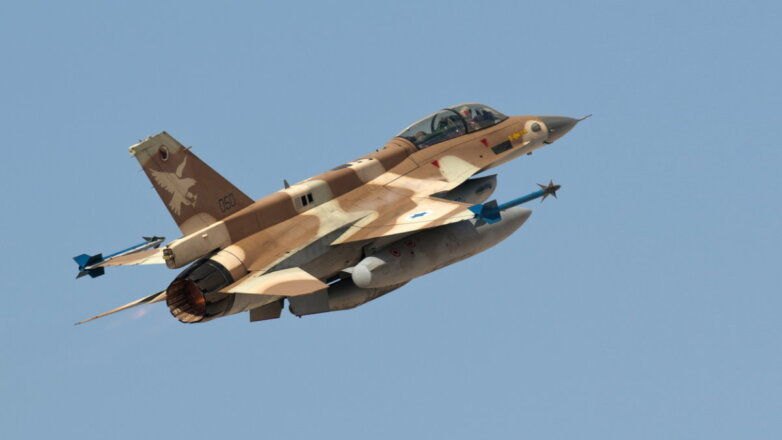 Израильский истребитель F-16I Sufa