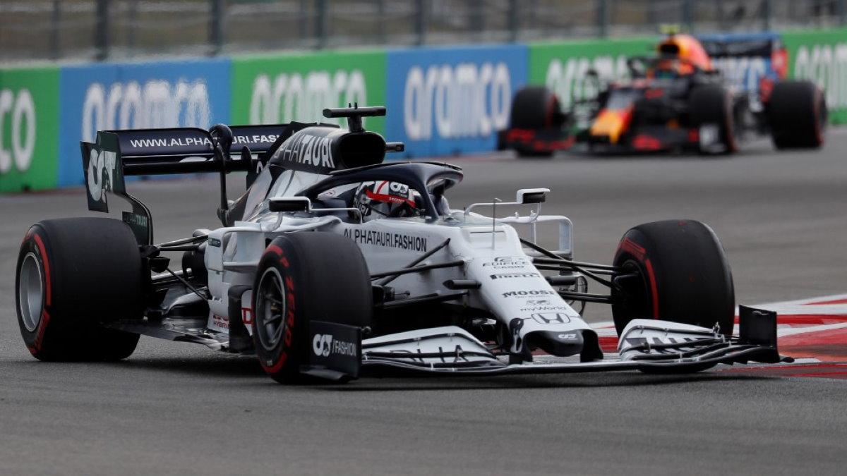 Формула 1 Formula 1 болид Даниил Квят