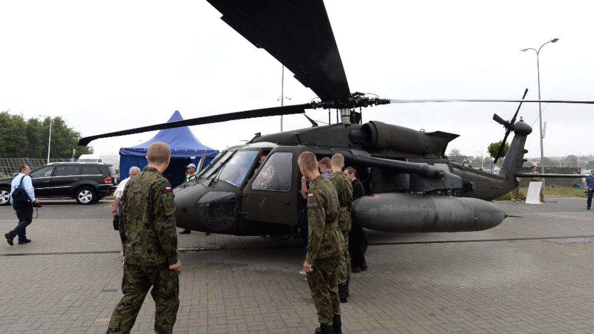 Вертолёт Sikorsky UH-60 Black Hawk Польша