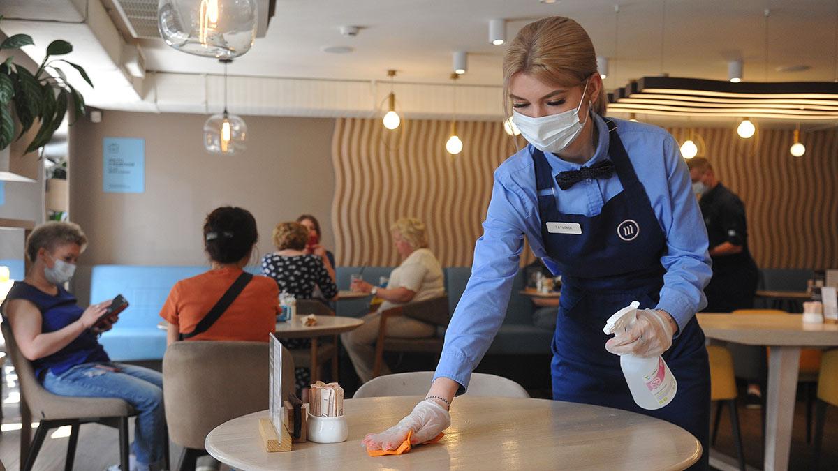 работа ресторана в период пандемии коронавируса
