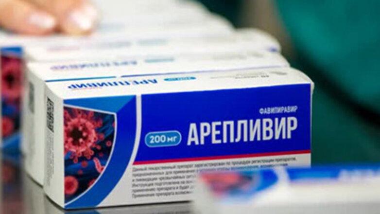 Арепливир таблетки от коронавируса один
