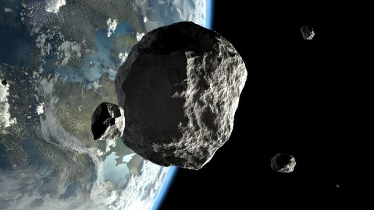 Астероид рядом с Землей