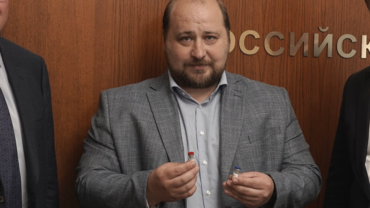 Денис Логунов и российская вакцина от коронавируса