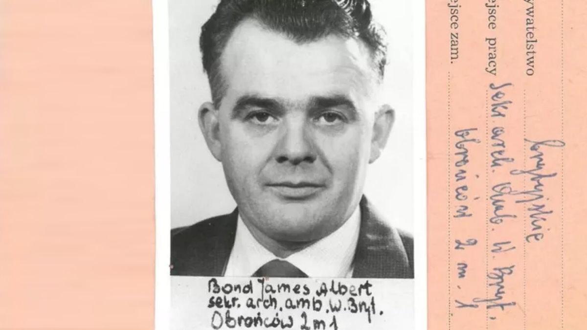 Архивные документы Джеймса Бонда
