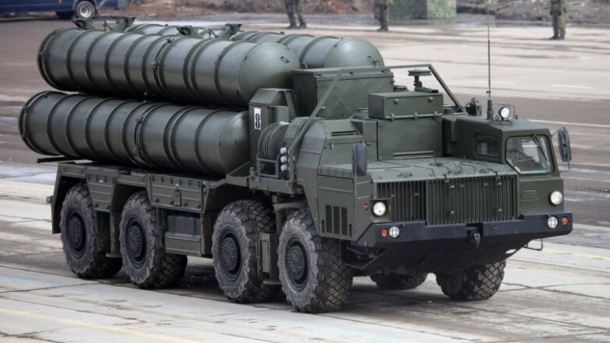 "Комплекс С-400 ""Триумф"" вапвап"
