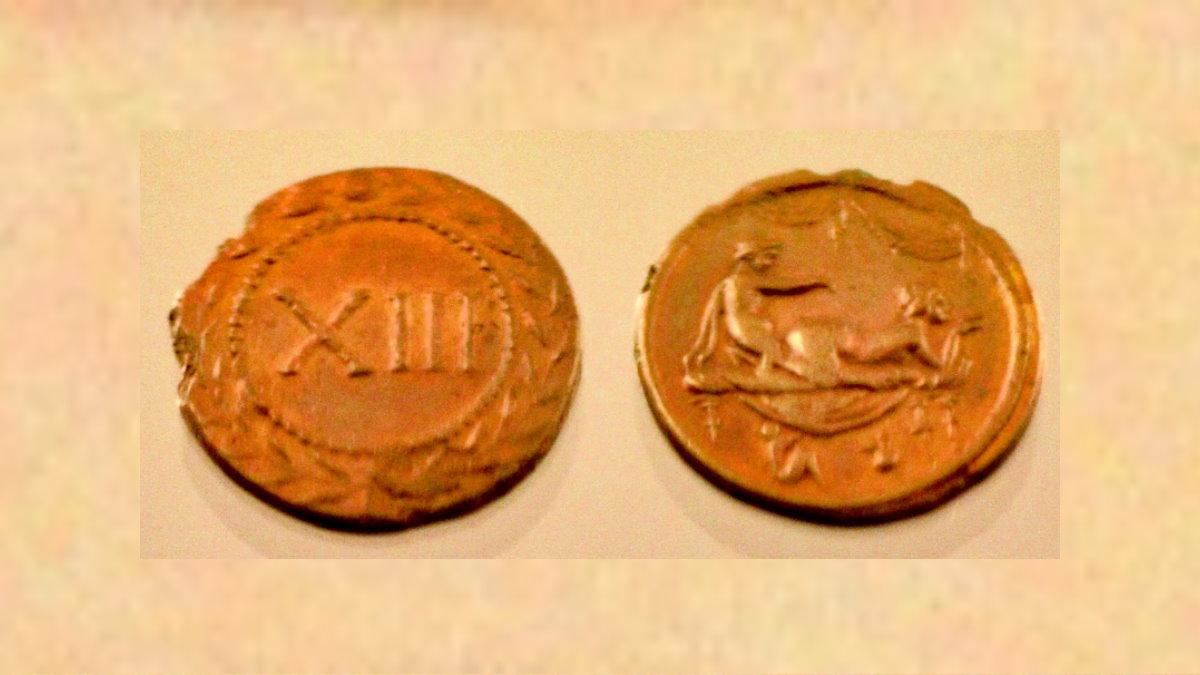 Эротические Римские монеты