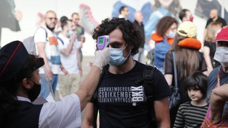 Грузия коронавирус туризм вокзал проверка температуры