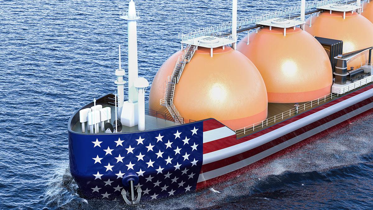 США танкер газ транспортировка экспорт природный газ