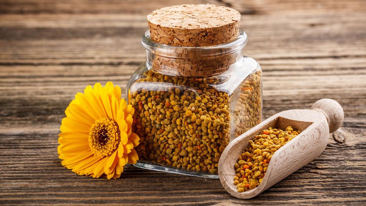 Пчелиная пыльца в гранулах
