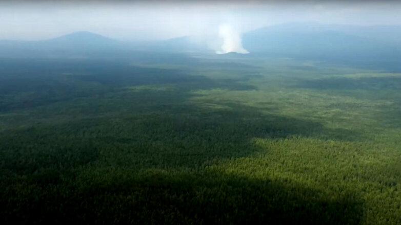 пожар в заповеднике Денежкин камень