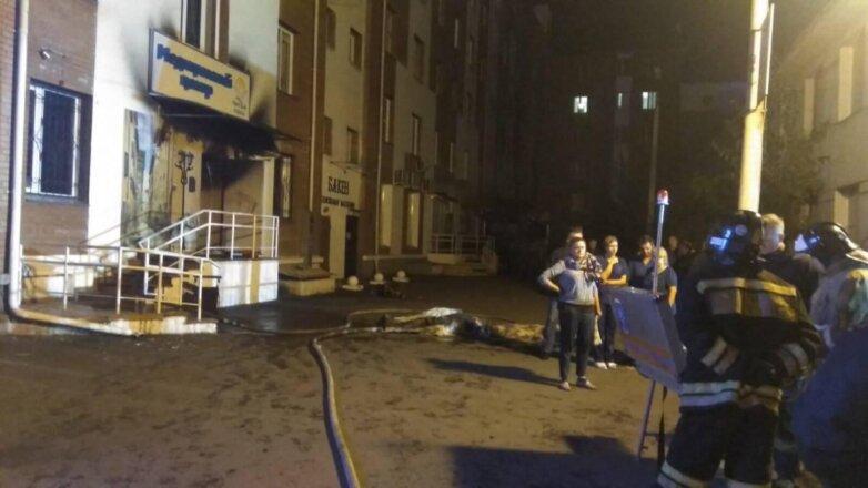 Красноярск пожар в наркологической клинике